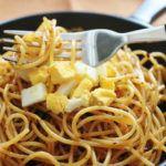 Spaguetis a la finas hierbas