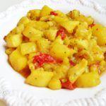 Choco con patatas – Convencional y La Cocinera