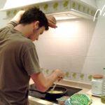 Guisantes con jamón cocinados por Juanma