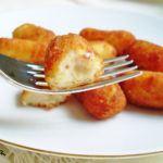 Croquetitas de jamón serrano y huevo duro