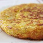 Tortilla española / tortilla de patata
