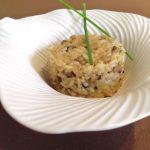 Arroz meloso con setas ( risotto con setas)