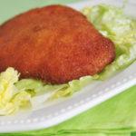 Pollo empanado aromático