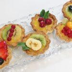 Tartaletas de frutas variadas