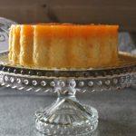 Tocino de cielo sobre tarta de queso – Ana