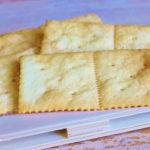 Galletas de agua o crackers