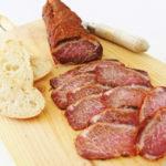 Lomo de cerdo ibérico curado